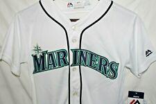 Majestic Seattle Mariners Ichiro Suzuki #51 Baseball Jersey Youth NWT Large