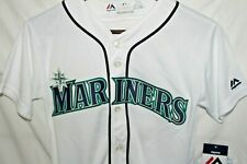 Majestic Seattle Mariners Ichiro Suzuki #51 Baseball Jersey Youth NWT Medium