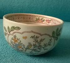 VINTAGE Adams Calyx Ware Singapore Bird Sugar Bowl reale ENGLISH Ironstone