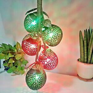 Set5 Coconut Shell Lamp Lights Wooden Hanging Porch Night Light Handmade