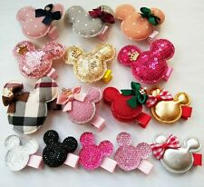 30pcs/lot mickey hair accessories hair clips for baby girls barrettes hair bows