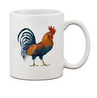 Rooster Vintage Look Ceramic Coffee Tea Mug Cup 11 Oz