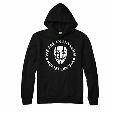 Guy Fawkes Hoodie, Anonymous Legion Vendeta Festive Gift Adults & Kids Hoodie