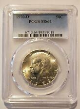 1970 D Kennedy Half Dollar PCGS MS64 No reserve