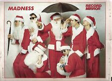 MADNESS return of 7 Santas magazine PHOTO/Poster/clipping 11x8 inches