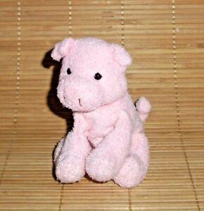 "5"" Russ PIG Perky Luv Pets Pink Plush Chamois Bean Bag Beanie 21103"