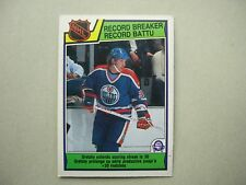 1983/84 O-PEE-CHEE NHL HOCKEY CARD #212 WAYNE GRETZKY RB EX/NM SHARP!! 83/84 OPC