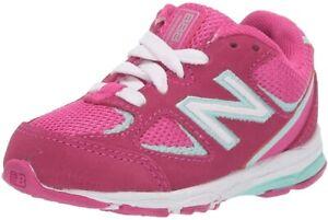 New Balance 258649 Infant Girls Running Sneaker Carnival/Light Reef Size 2 Xwide
