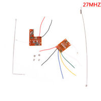 4CH 27MHZ remote control circuit board pcb transmitter receives antenna t dX