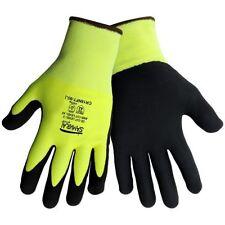 Samurai® CR18NFT Large Lightweight Cut Resistant Gloves Hi-Viz Nitrile Palm