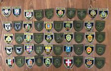 PATCH UKRAINE NATIONAL POLICE  ORIGINAL COLLECTION 50 REGIONAL PATCHES 2018 year