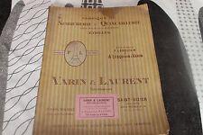 ALBUM VARIN & LAURENT fabrique de serrurerie et quincaillerie 1927 SAINT DIZIER