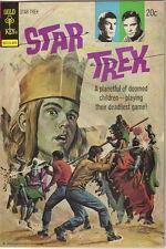 Star Trek Classic TV Series Comic Book #23, Gold Key Comics 1974 VERY FINE-