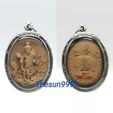 Thai amulets Thai amulets Lersi Hermit Pu HaiRuay Rich Wealth Lucky Fortune