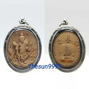 Thai amulets Thai amulets Lersi Hermit Pu HaiRuay Rich Wealth Lucky Fortune