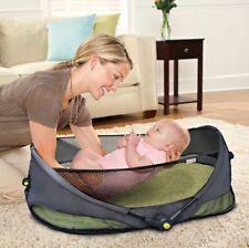 Munchkin Baby Travel Cot Bed Holiday Camping Fold N Go Bassinet UK