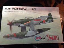 MPM/CMK 1/72 AICHI M6A1 SEIRAN--GREAT-LOOKING FLOATPLANE W/VACFORM CANOPY !