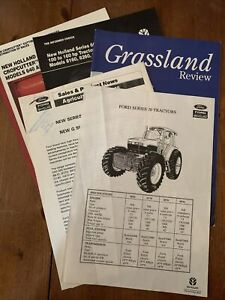 New Holland Tractor Sales Brochures/leaflets.