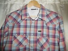 Mens Lee Multicoloured Checked Shirt *Size M* Great Condition