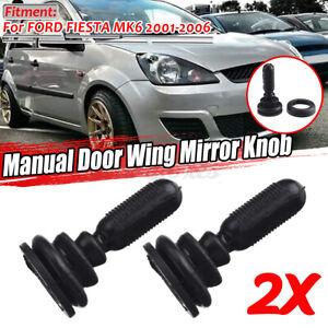For Ford Fiesta MK6 2001-2006 1507431 Manual Wing Mirror Adjuster Knob  -