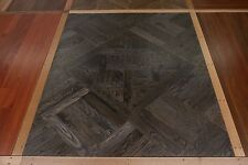 European Oak Parquetry Panel Flooring 590x590x19mm SOLID TIMBER Marie Antoinette