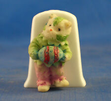 Birchcroft Thimble -- Model  -- Easter Cat