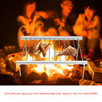 New BBQ Barbecue Grill Fold Portable for Charcoal Camping Garden Outdoor Party