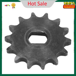New 14 Tooth Sprocket Pinion Gear 428 Metal Chain Sprocket For Electric Scooter