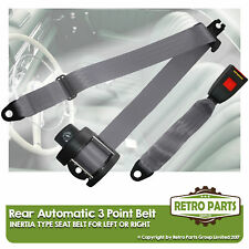 Rear Automatic Seat Belt For Morris Oxford Series 6 Estate 1959-1971 Grey