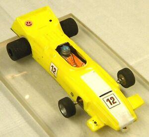 Slot Car 1/24 Retro F1 - Custom Wire & Brass Chassis - JK Retro Motor.