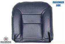 95 96 97 98 GMC Sierra 1500 Z71 SLT SLE PASSENGER Bottom Leather Seat Cover Blue