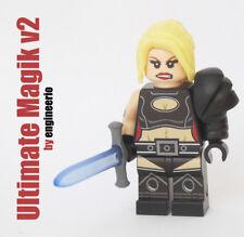 LEGO Custom -- Magik Ultimate Legends v2 -- Marvel Super heroes minifigures