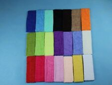 10PCS Cotton Terry Cloth Sweatband Flexible Headband Head Hair Sports Yoga