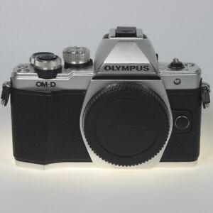 Olympus OM-D E-M10 Mark II 16.0 MP DSLR-Kamera (Nur Gehäuse) - Silber (V207050SE