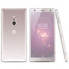 "Unlocked Sony Xperia XZ2 H8266 5.7"" 64GB Dual-SIM 19MP Qi Wireless Charging Pink"