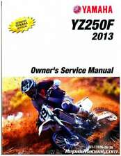 2013 Yamaha YZ250F Motorcycle Owners Service Manual : LIT-11626-26-28