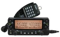 Alinco DR-735T Dual Band VHF/UHF 50W Mobile Transceiver w/ Dual Receive