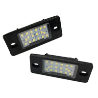 2Pcs Car LED Licence Number Plate Light For Porsche Cayenne Boxster New