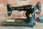 Antique  Vintage  Singer Sewing Machine Model 66  1364