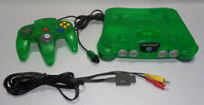 Nintendo 64 Limited Edition Jungle Green Console