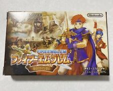 FIRE EMBLEM THE BINDING BLADE GAMEBOY ADVANCE GBA JAPAN COLLECTION  IMPORT