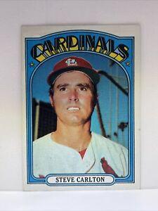 1972 Topps HOF #420 Steve Carlton Cardinals