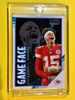 Patrick Mahomes PANINI SCORE GAME FACE INSERT CHIEFS 2020 CARD #GF-PM - Mint!