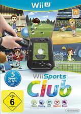 Wii Sports Club (Nintendo Wii U, 2014, DVD-Box)