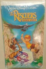 *Sealed Black Diamond* Disney Classic - The Rescuers Down Under 1990  RARE OOP