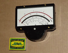 Hewlett-Packard large moving coil panel meter SWR engraved / NOS /