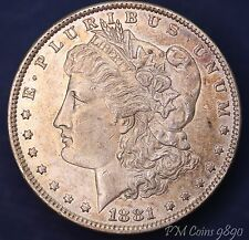 1881 O USA US Morgan Dollar 90% silver nice toned coin *[9890]