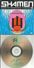 SHAMEN Move Any Mountains 4 RARE MIXES Carded EUROPE CD single USA Seller 2005