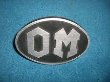Emblem / Badge OM Iveco 8x11 cm