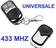 Telecomando Universale 4 canali/tasti.Cancello,cancelli automatici,433Mhz. 433